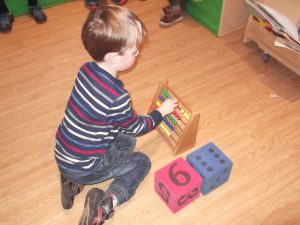 Developing numeracy skills through play